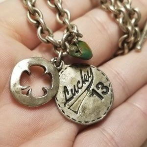 Old VTG Lucky Charm Necklace